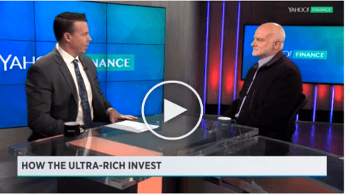 HOW THE ULTRA RICH INVEST - A YAHOO! FINANCE INTERVIEW WITH TIGER 21 FOUNDER, MICHAEL SONNENFELDT