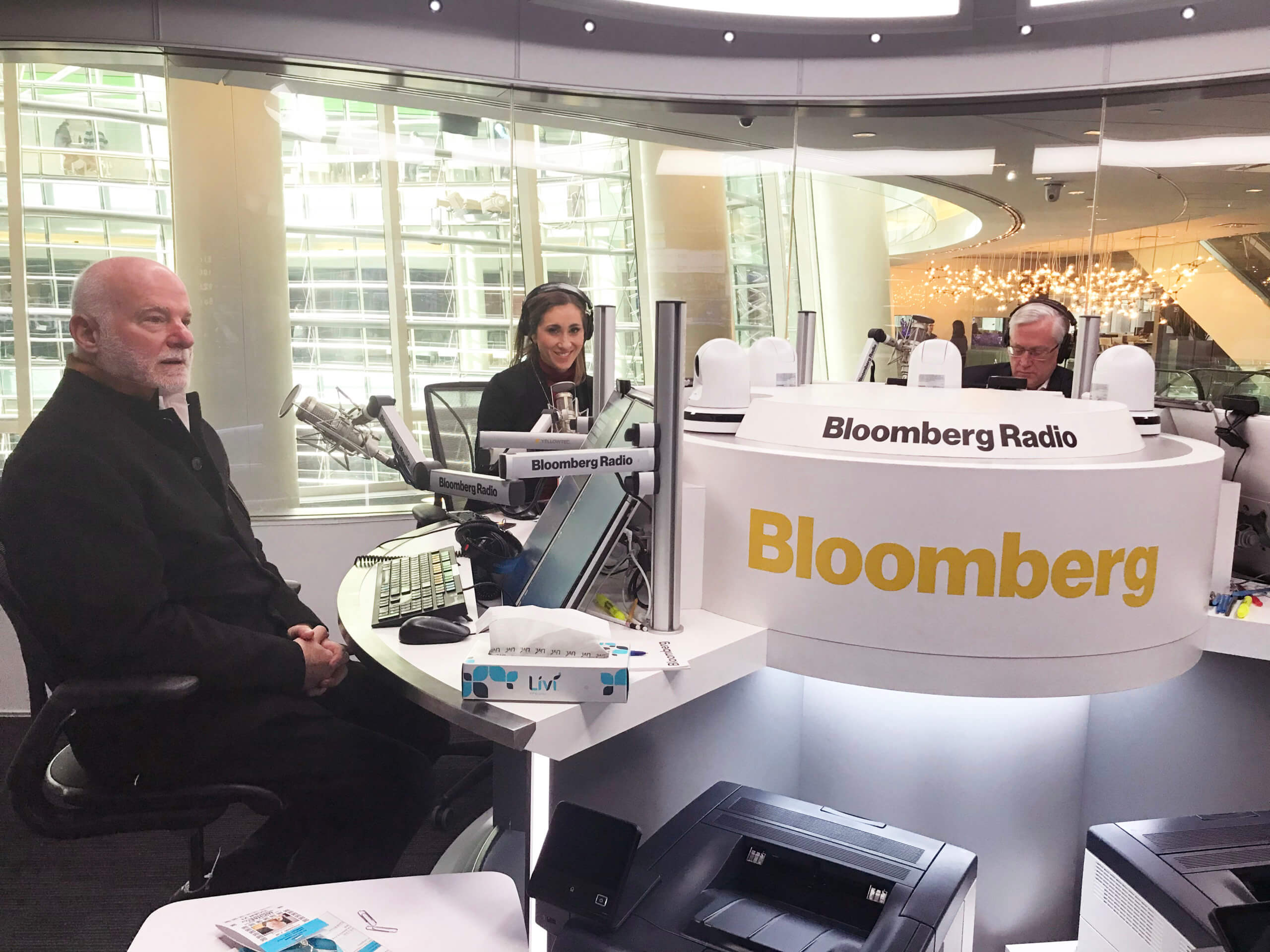 BLOOMBERG RADIO INTERVIEWS TIGER 21 FOUNDER ON PUTTING TOGETHER AN ALL-WEATHER PORTFOLIO