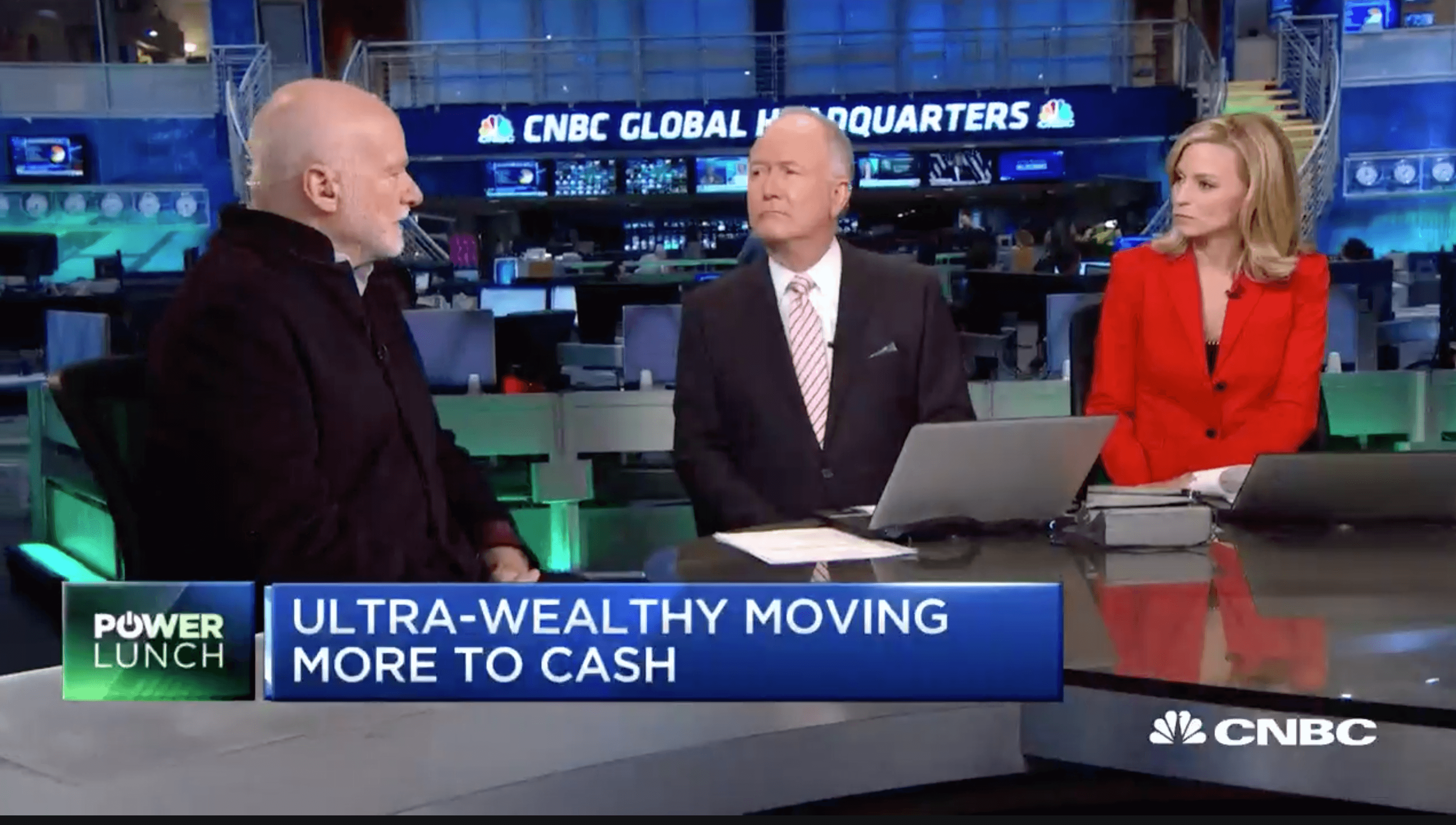 TIGER 21 FOUNDER DISCUSSES ON CNBC THE ASSET ALLOCATION OF THE ULTRA-WEALTHY