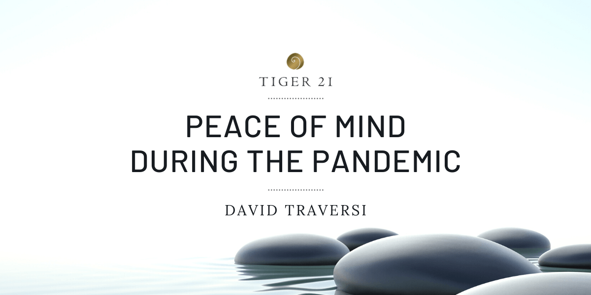 PEACE OF MIND DURING THE PANDEMIC: FINDING THE PATH TO HAPPINESS THROUGH BEING PRESENT