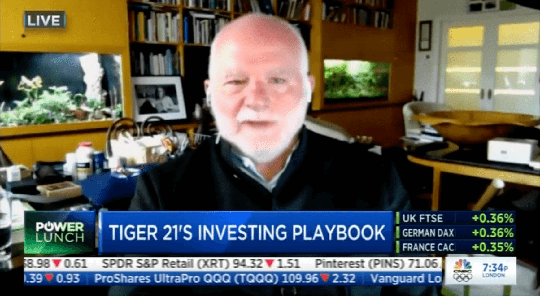 """Public Equities, Real Estate, and Crypto: CNBC """"Power Lunch"""" Interviews TIGER 21 Founder"""